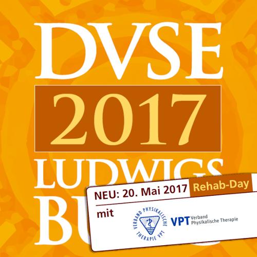 Noch freie Plätze: VPT erstmals mit eigenem Rehab-Day auf dem 24. Jahreskongress der DVSE
