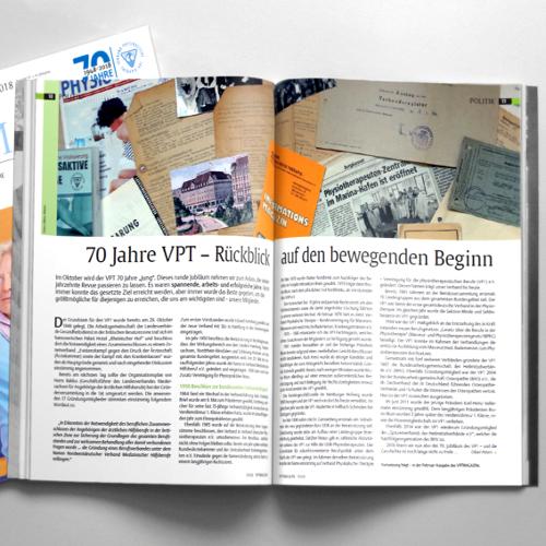 Historie | 70 Jahre VPT – Rückblick auf den bewegenden Beginn