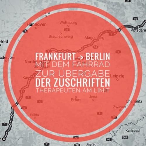 VPT unterstützt Heiko Schneider und seine Aktion 'Therapeuten am Limit'