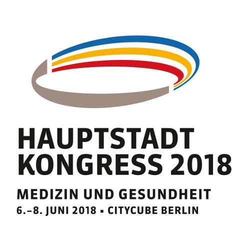SHV | Hauptstadtkongress 2018: Der Spitzenverband ist dabei
