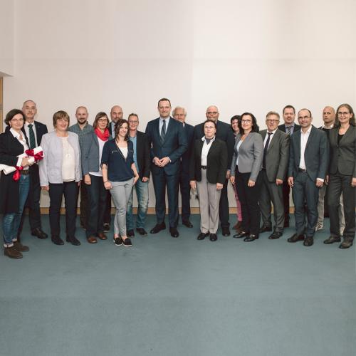 SHV |Treffen des Spitzenverbandes der Heilmittelverbände mit Bundesgesundheitsminister Jens Spahn offen und konstruktiv