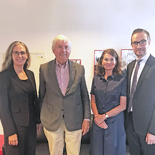 Kammer und Co. – IFK und VPT diskutieren Branchenthemen im schleswig-holsteinischen Landtag