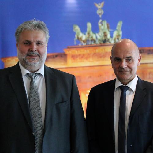 Es wurde gewählt! – Hans Ortmann und Raymond Binder bilden das neue Präsidium