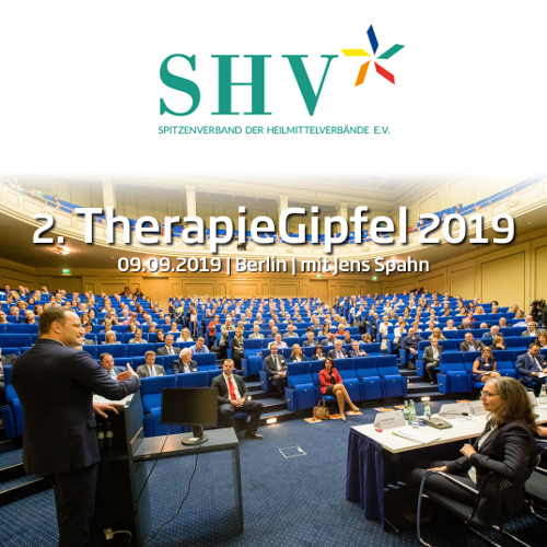 SHV | 2. TherapieGipfel am 09. September 2019 in Berlin