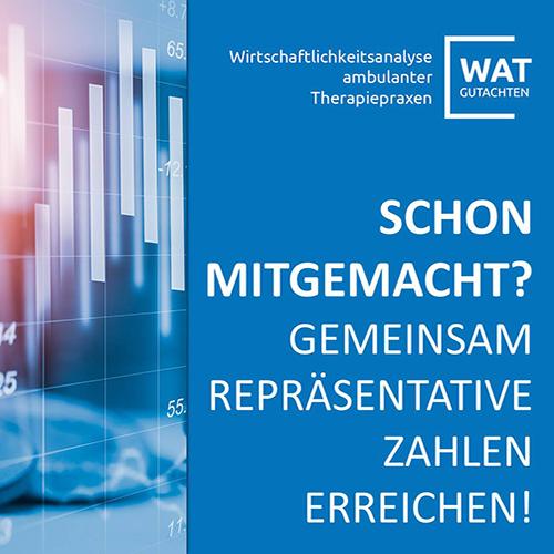 WAT-Wirtschaftlichkeitsgutachten: Verlängert bis zum 17. November!
