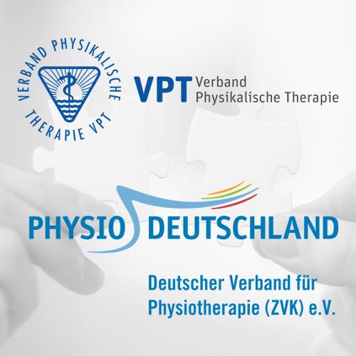 VPT und PHYSIO-DEUTSCHLAND beschließen Start von Fusionsverhandlungen