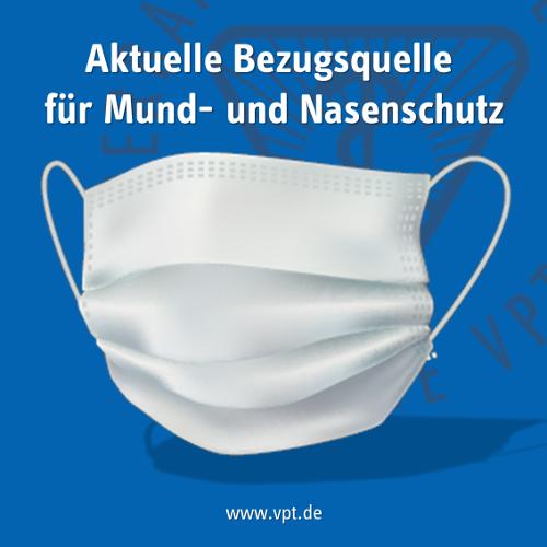 Aktuelle Bezugsquellen für Mund- und Nasenschutz