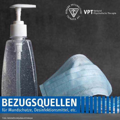 Aktuelle Bezugsquellen für Mund- und Nasenschutz, Desinfektionsmittel und Co.