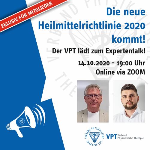 Download | Online-Expertentalk zur Heilmittelrichtlinie: Video und Präsentation