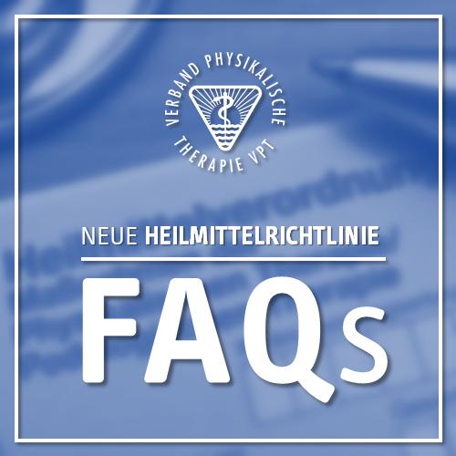 Zusammenfassung der Informationen zur neuen Heilmittelrichtlinie