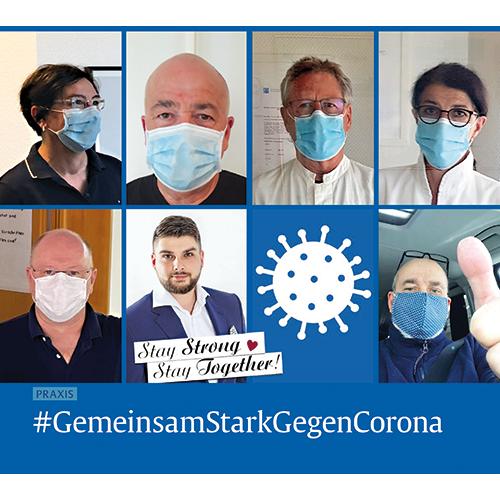 #GemeinsamGegenCorona: So erleben wir die Pandemie in der Praxis