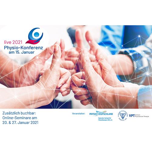 Physio-Konferenz Live im Januar 2021 - Online-Veranstaltung