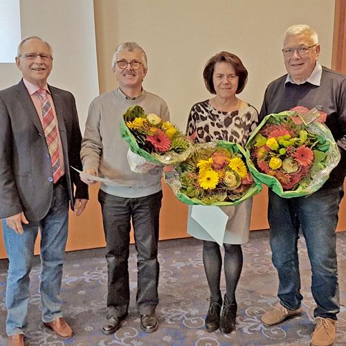 VPT Hessen | Für 40 und 50 Jahre – Glückwünsche an drei Berufsjubilare