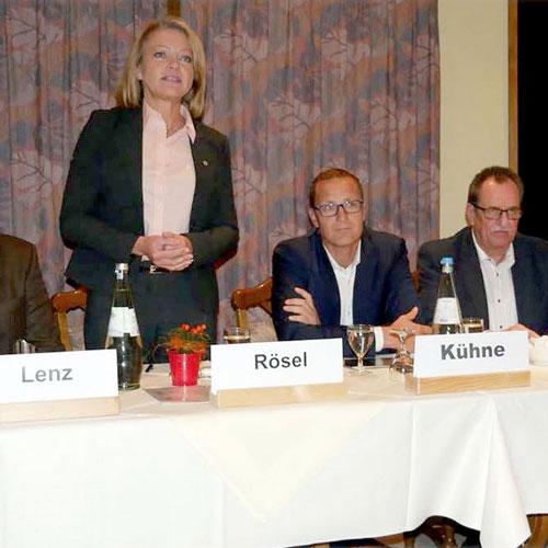 LG Niedersachsen | Dr. Roy Kühne zu Gast in Soltau