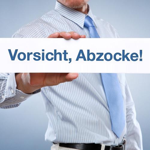 Vorsicht bei Rechnungen der DE. Deutsche Domain