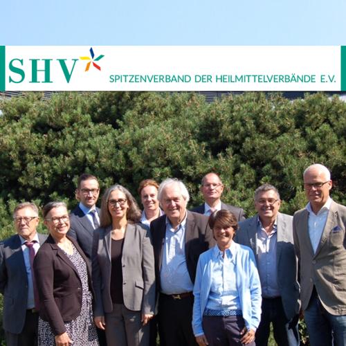 SHV | Spitzenverband der Heilmittelverbände verstärkt sich